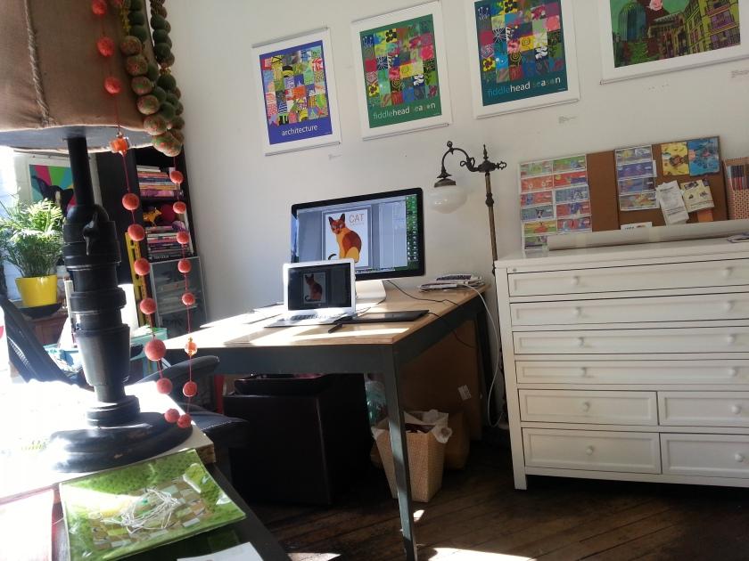 Paula Ogier artist studio