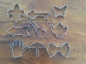 cookie cutters for stampmaking