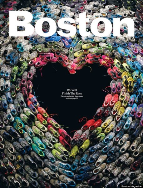Boston Magazine The Shoes We Wore Cover