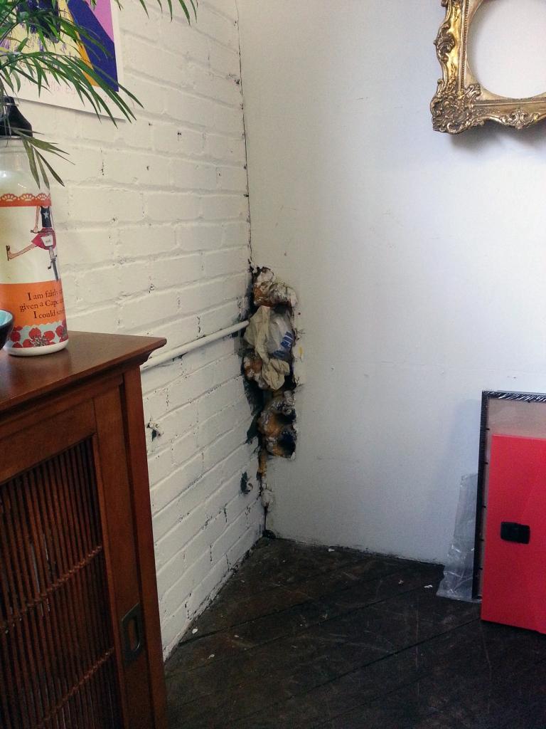 Boston artist studio