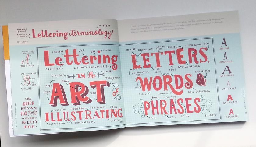 Hand Lettering Ledger by Mary McDevitt