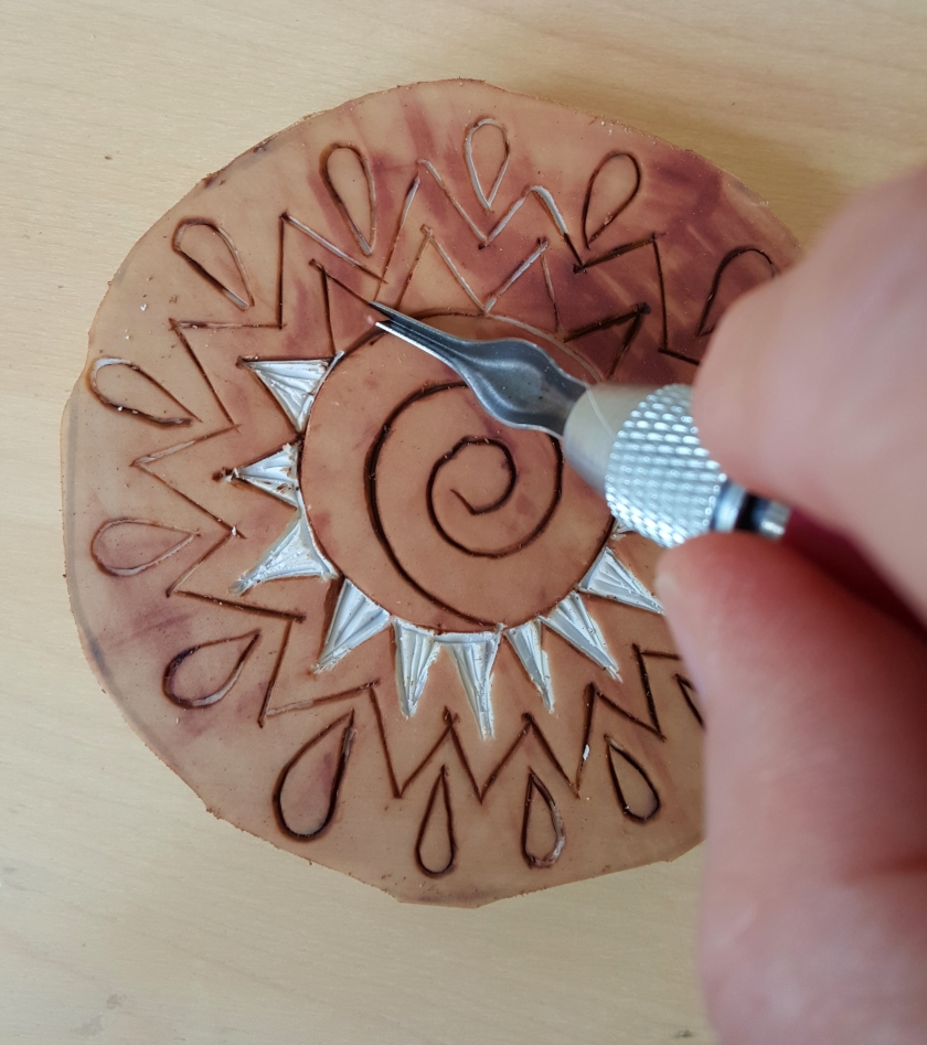Rubber Stamp carving