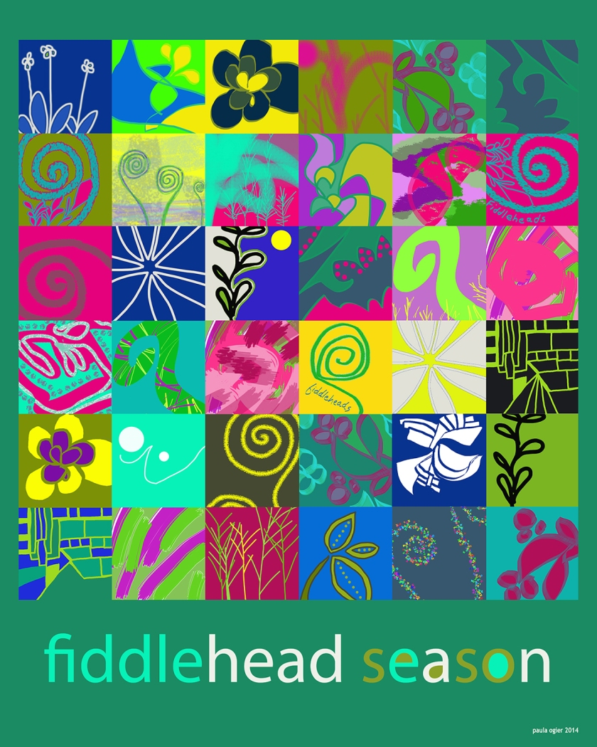 Fiddlehead mosaic