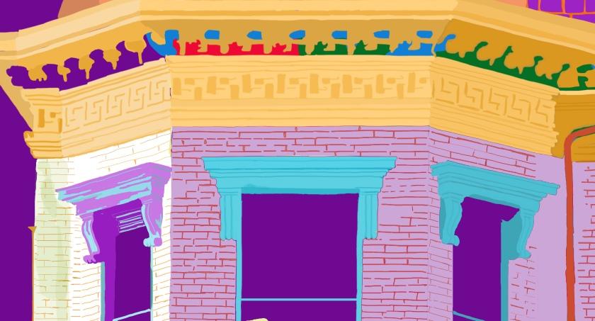 Rowhouse art