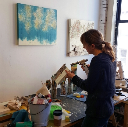 Artist Patricia Busso