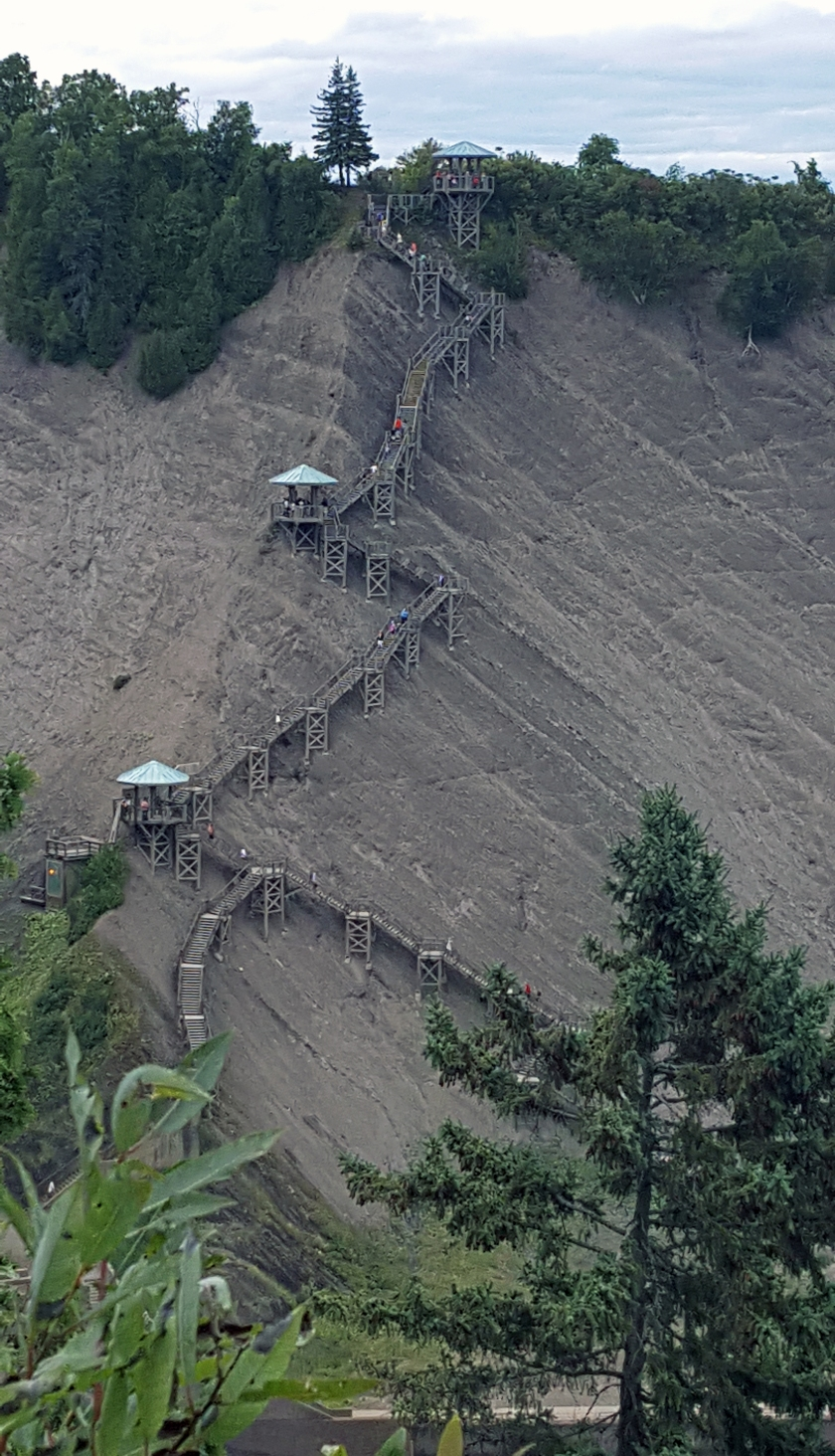 Montmorency Falls stairs