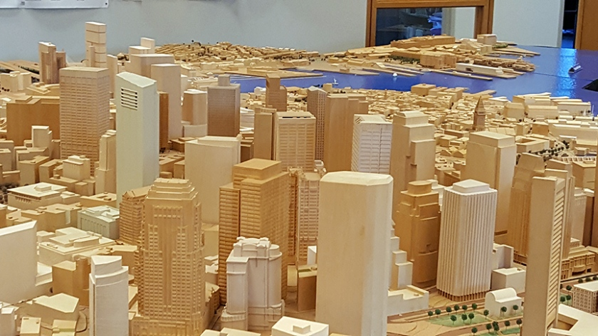 City of Boston scale model