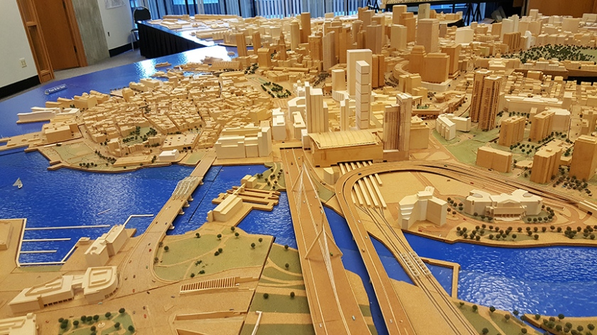 City of Boston model