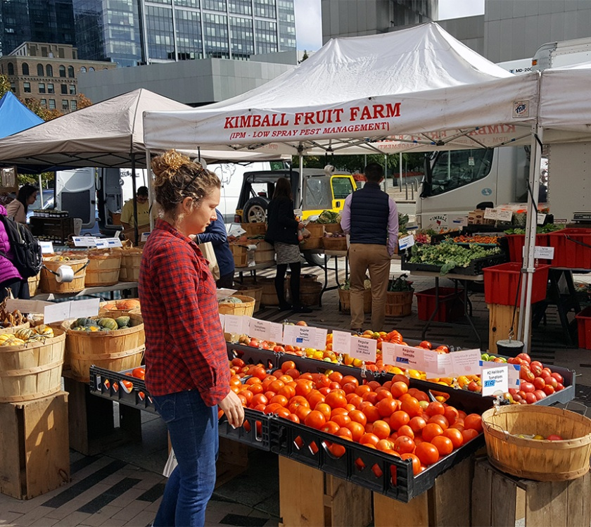 Rose Kennedy Greenway farmers' market
