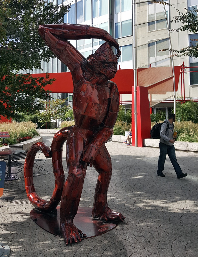 Monkey See Rose Kennedy Greenway
