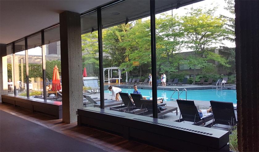 Bonaventure hotel Montreal