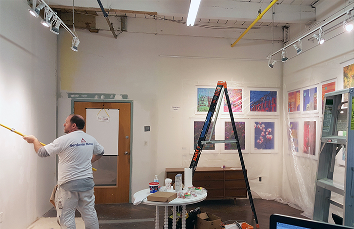 Paula Ogier Artworks studio reno