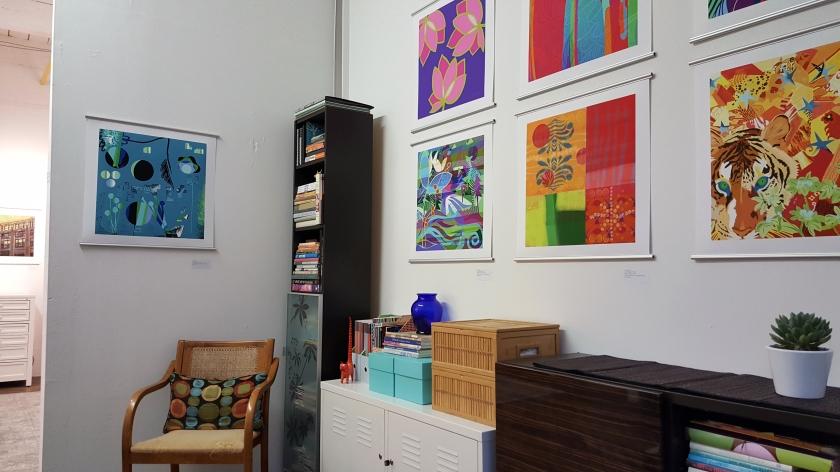 Paula Ogier Artworks studio Boston
