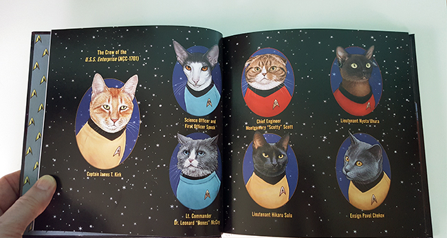 Star Trek Cats by Jenny Parks