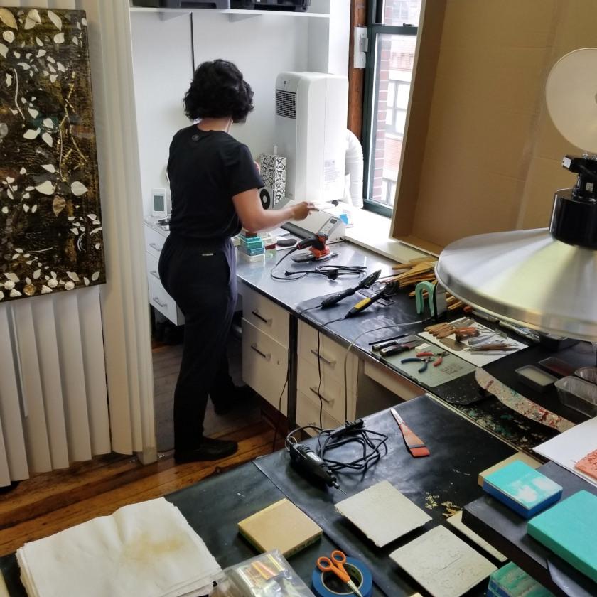 Charyl Weissbach studio 413