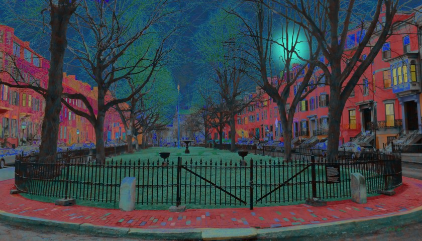 Union Park Boston artwork